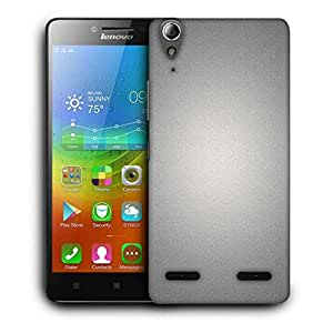 Snoogg Focused Light In Grey Designer Protective Phone Back Case Cover For Lenovo A6000 Plus