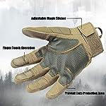 Xnuoyo-Gomma-dura-Nocca-Full-Finger-e-Mezza-Finger-Gloves-Guanti-di-protezione-Touch-Screen-Guanti-per-Moto-Ciclismo-Caccia-Arrampicata-Camping