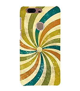 Fiobs Designer Phone Back Case Cover Honor8 ( Colorful Pattern Design Rainbow )