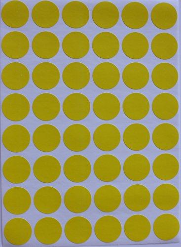 """Codificación de Color etiquetas ~ 3/4""""Ronda Dot pegatinas–10diferentes colores, tamaño 11/16de diámetro Ronda Dots"""