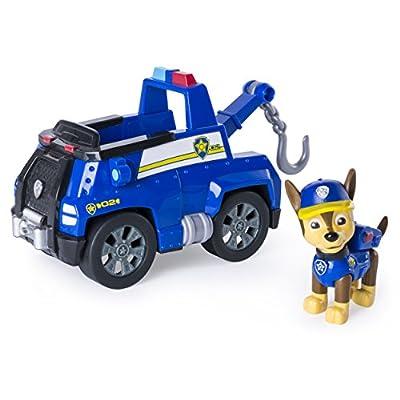 PAW PATROL Chase y su grúa remolcadoras de Patrulla Canina (6037956) por Spin Master Toys UK Ltd