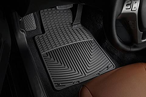 WeatherTech - W24 - 1996-2002 BMW Z3 Roadster Black All Weather Floor Mats 1st Row by WeatherTech - 1996 Bmw Z3 Roadster