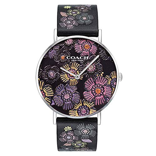 Casual 14503046 Multicolored Dial Women's Analog Coach Quartz Coach Perry