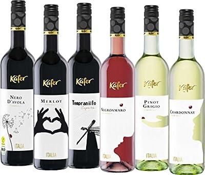 Feinkost Käfer Weinpaket Europa neu (6 x 0.75 l)