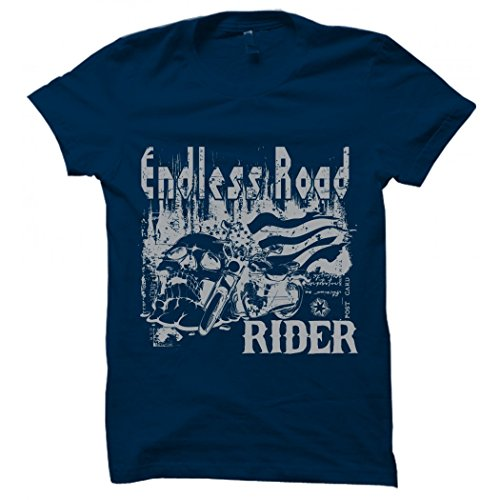 Printing Geeks Endless Road Yellow Printed/Animated Round Neck Designer Men's Cotton T Shirt  available at amazon for Rs.499