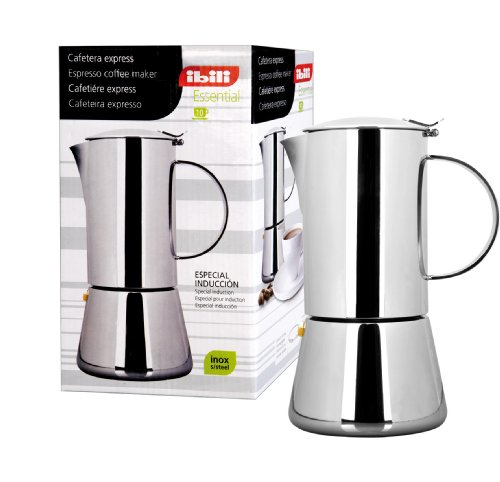 IBILI 620302 - Cafetera Express Essential INOX 2 Tazas