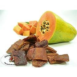 Papaya getrocknet, ungezuckert und ungeschwefelt 250g von Schmütz-Naturkost, Trockenfrüchte