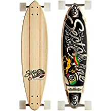 Sector 9 Hot Steppa Complete Skateboard, Assorted, 8.375 x 32.5-Inch by Sector 9