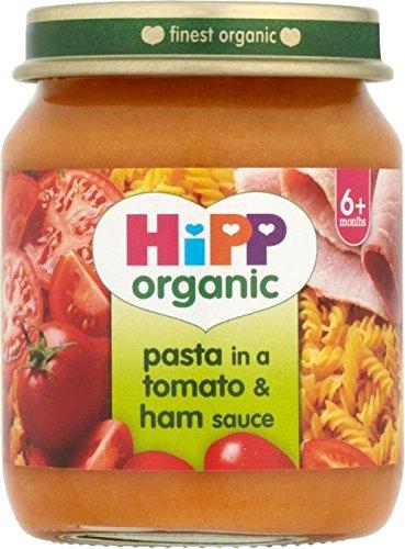 Hipp Pâtes dans une tomate et jambon sauce 4mois + (125g) - Paquet de 6