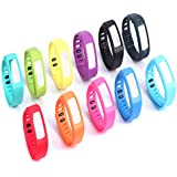 SET10 , Large : iStyle® Replacement Bands for Garmin Vivofit Activity Bracelet Smart WristBand