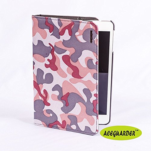ACEGUARDER Sommer Camo Serie Ipad mini / mini2 Abdeckung mit Hand Bandage MilitärCamo Canvas-360-Abdeckung Case + Geschenke Pfeife (CAMO/6) (Camo Pfeife)