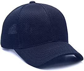 Glamio Net Baseball Cap for Men's (Blue)