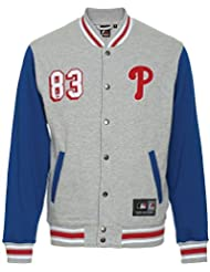 Majestic Philadelphia Phillies MLB Baseball cotland Letterman Veste