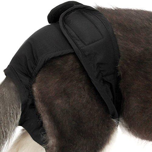 YiZYiF Hunde Hündinnen Schutzhose Läufigkeit Unterhose Unterwäsche Läufig Hose Shorts S-XL Schwarz XL