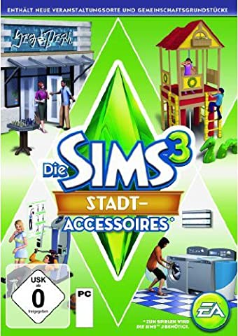 Die Sims 3: Stadt-Accessoires Add-on [PC/Mac Online Code]