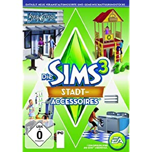 Die Sims 3: Stadt-Accessoires Add-on [PC/Mac Instant Access]