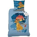 Bettwäsche, Motiv: König der Löwen, Kion, Bettbezug (140x 200cm) + Kissenbezug (63x 63cm),100% Baumwolle
