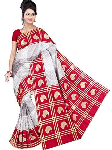 Womens art silk saree (305)