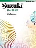 Suzuki Cello School, Vol 4: Cello Part (Suzuki Method Core Materials)