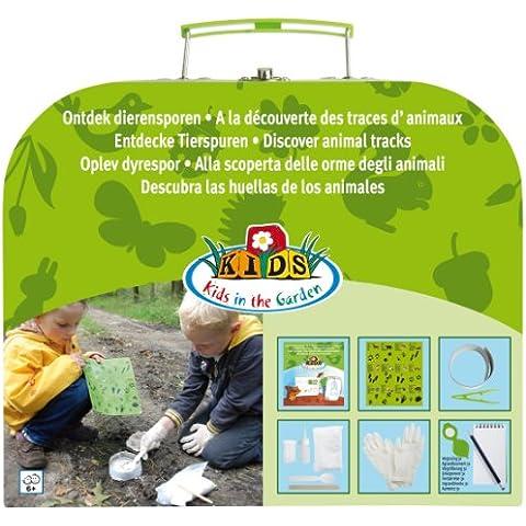 Esschert KG122 - Herramientas de jardín infantiles, color verde