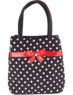 SugarShock Damen Polka Dots rockabilly Handtasche 141487616