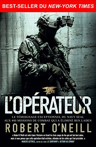 L'opérateur: Best-seller du New York Times
