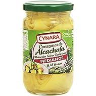 Cynara - Corazones de alcachofa al natural - Medianos 6/8 frutas - 175 g