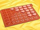 Macaron Backmatte Herz