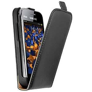 mumbi PREMIUM Leder Flip Case für Samsung Galaxy Ace Duos Tasche