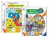 TipToi Ravensburger Book Safe In Traffic and My Learning Game Adventure Book First Letters – 9120063890583