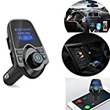 Chunyang T11 Bluetooth Car Kit Bluetooth Empf?nger FM Transmitter Wireless Adapter f¨¹r Aux TF-Karte Dual-USB-MP3-Player H?nde Gratis Anruf Vergleich