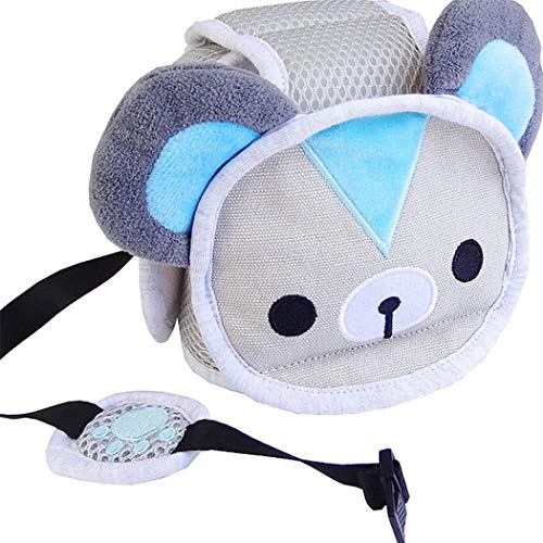 Eleusine Baby Schutzhelm Infant Kleinkind Kinder Antikollision Kopf Schutzkappe Verstellbare Geschirre Kopfschutz (Stil 4)