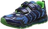 Geox Jungen J Android  B Low-top Sneaker, Blau (Navy), 35 EU