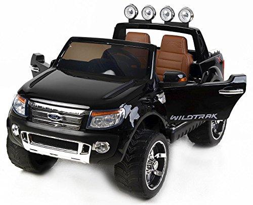 RIRICAR Ford Ranger Wildtrak de Luxe Voiture-Jouet électrique pour Enfant, 2.4Ghz Bluetooth...