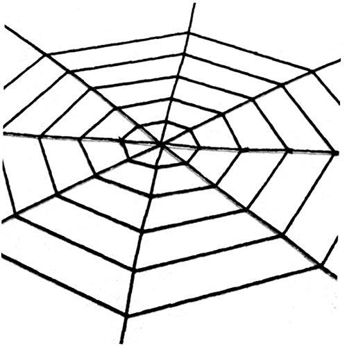 hy Spinnennetz Halloween Cobweb Terror-Partei-Dekoration Bar Haunted House Spiders Web 3M ()
