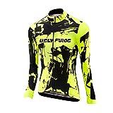 Uglyfrog 2018 Damen #45 Neue Männer Radfahren Langarm Radfahren Trikots Jersey eine Menge Farben Antislip Ärmel Cuff Road Bike MTB Top Riding Shirt