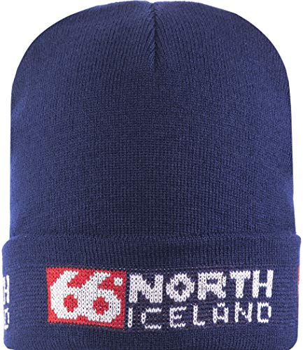 66°North Erwachsene Hat Mütze Hat, Dark Blue, One Size