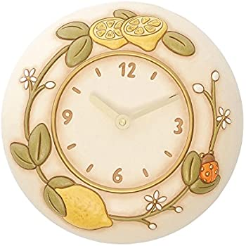 Thun limoni orologio da parete ceramica variopinto - Thun orologio da parete ...