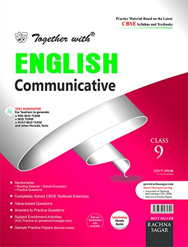 Together With CBSE Practice Material/Sample Papers Sectionwise for Class 9 English Communicative Novels for 2018 Exam