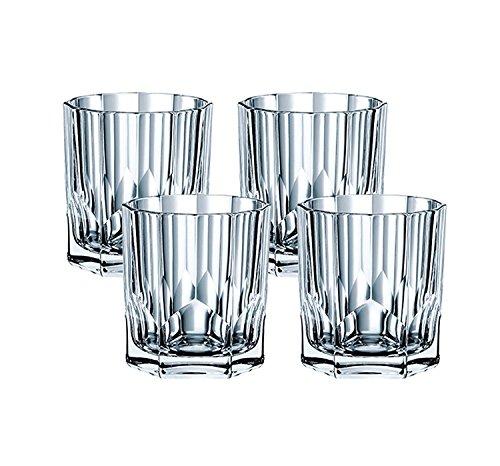 Spiegelau & Nachtmann, 4-teiliges Whiskybecher-Set, Aspen, 92126 (Gläser Fashioned Double Old)