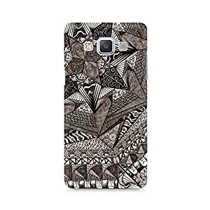 High Quality Printed Cover Case for Samsung A5 Model - Geometric Abstract Doodle