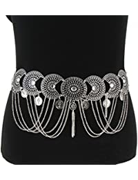 Fashiongen - Ceinture chaines à strass pendantes ESTELA