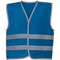 Personalised Kids Childs Hi-Vis Safety Vest Jacket High Visibility Hi Viz