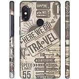 Casotec Travel Designer 3D Printed Hard Back Case Cover for Xiaomi Redmi Note 5 Pro