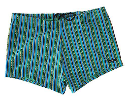 Solar Dry Weave Lycra Badehose Panty Shorty Badeshort 5401216 (DE 7 (XL), Blue)