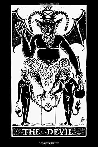 The Devil Notebook: Tarot Notizbuch Tarotkarten Journal Kartenlegen Buch Spirituelle Energy Geschenk