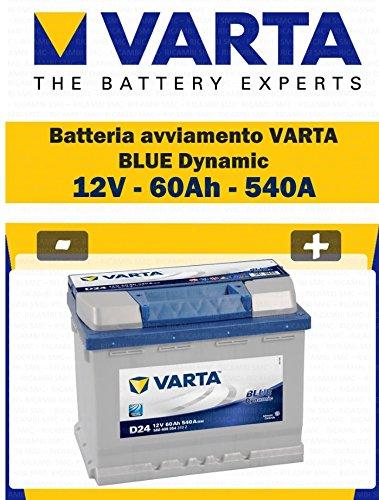 BATTERIA-AUTO-VARTA-BLUE-DYNAMIC-D24-60AH-540A-POLO-POSITIVO-DX-560408054