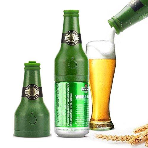Dispensador De Cerveza,Hemore Portátil Vibración Ultrasónica Batería Cerveza Cremosa Espuma Servidor Espumador De Cerveza Perfecto Para La Promoción De La Cerveza