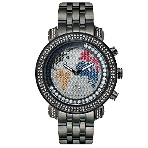 Joe Rodeo Diamond orologio da uomo - Tyler nero 2 Ctw