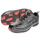 Cofra, JV003-000, Scarpe di sicurezza S3 lavoro nuovo diavolo dimensione scarpe da lavoro Volare 38, nero